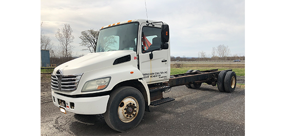 Utica Mack Used Hino 338 Truck